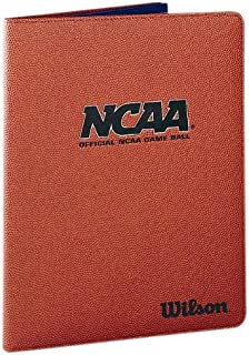 Wilson NCAA Basketball Leather Folder