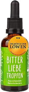 BitterLiebe bitterstoffen druppels 50ml met praktische pipet sluiting I bitterdruppels volgens het recept van Hildegard vo...