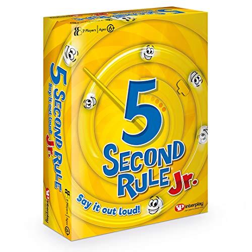 Interplay UK GF002 5 Second Rule Junior Family Card Game, Multi