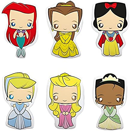 Conjunto de Almofadas Princesas Disney - 6 peças
