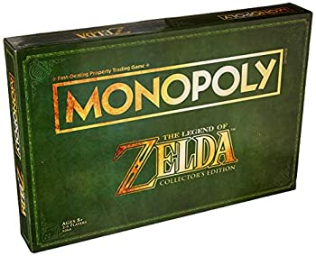 Monopoly Legend of Zelda Collectors Edition Board Game Ages 8 & Up  Amazon Exclusive