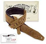 Walker & Williams C-22 Natural Suede Boot Leather Strapwith Double Padding