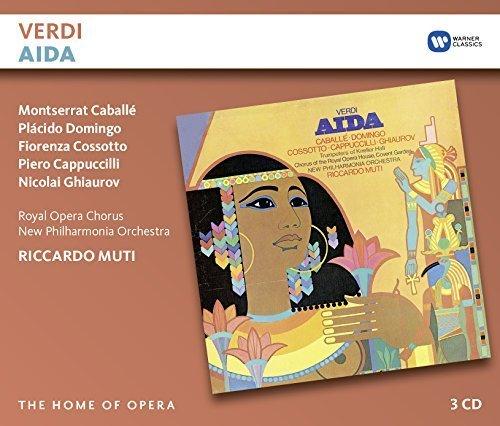 Verdi: Aida by Riccardo Muti/Montserrat Caballe/Placido Domingo/Fiorenza Cossotto/Piero Cappuccilli/Nicolai Ghiaurov