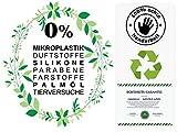 Carenesse Aleppo Seife 60% Olivenöl 40% Lorbeeröl ca. 200 Gramm, original Olivenölseife Haarseife Naturprodukt vegan handgemacht - Duschseife Naturseife - 8