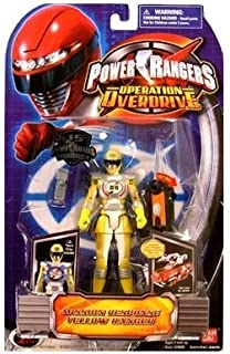 Power Rangers Operation Overdrive 5-Inch Power Ranger Action Figures Mission Response Yellow Power Ranger