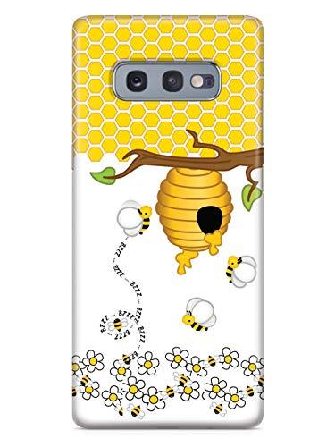 Inspired Cases - 3D Textured Galaxy S10e Case - Rubber Bumper Cover - Protective Phone Case for Samsung Galaxy S10e - Honey Bee