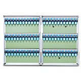 Storage rack. Caja de Almacenamiento de 72 Llaves, Caja de AdministracióN de Llaves Montada en La Pared, Almacenamiento de Llaves, Utilizada en Oficinas y Almacenes