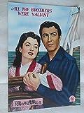 1954年映画パンフレット 兄弟はみな勇敢だった リチャード ソープ監督 ロバート テイラー アン ブライス