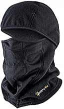 AstroAI Ski Mask Balaclava for Cold Weather Windproof Breathable Face Mask for Men Women Riding Motorcycle & Snowboarding Skiing, Black