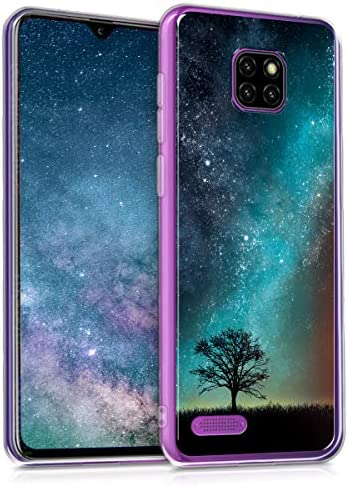 kwmobile Case Compatible with Ulefone Note 7 2019 Crystal TPU Cover with UV Print and Transparent product image