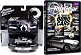 Top Gear 50 Years of James Bond & Goldfinger Aston Martin Car 007 Set Hot Wheels Die-Cast with BBC TV Special