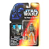 Star Wars, The Power Of The Force Red Card, Boba Fett Action Figure, 3.75 Inches