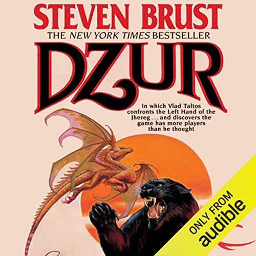 Dzur audiobook cover art