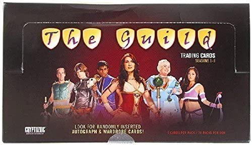 The Guild Trading Cards  Seasons 1-3 Display by Cryptozoic Entertainment by Cryptozoic Entertainment