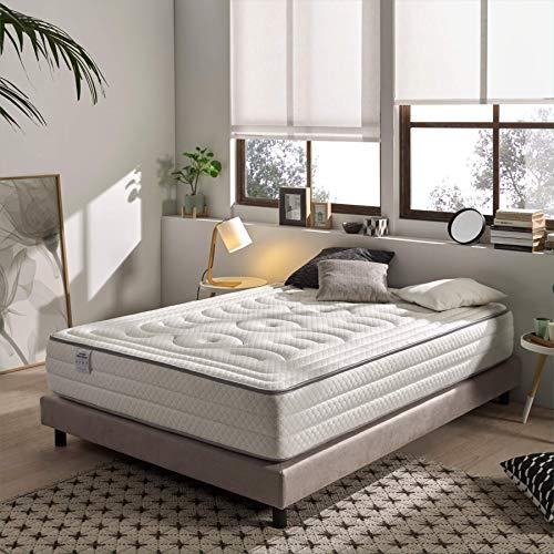 Dreaming Kamahaus Colchón Grand VISCO Gel Hotel | 135 x 190 cm | 30cm Grosor | Gama Alta | Sistema Extra-Relax 5cm con Viscografeno-Gel Frío | Alto Confort y adaptabilidad