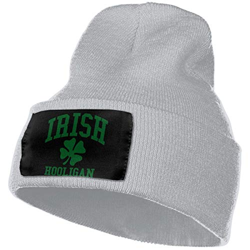 hgdfhfgd Keep warm Woolen Cap for Men Women, 100% Acrylic Acid Irish Hooligan Beanie Hat Keep warm 17901
