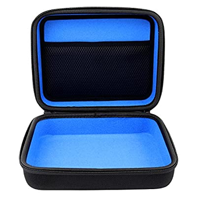 reVRsed Premium Virtual Reality Protection Storage Carry Case Cover for VR Glasses Oculus Go, Samsung Gear (2017 SM-R325 R324, 2016 SM-R323, 2015), Google Daydream and other incl accessories | blue