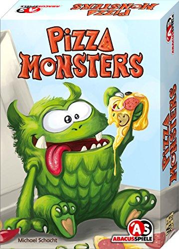 ABACUSSPIELE 04182 - Pizza Monsters, Kinderspiel