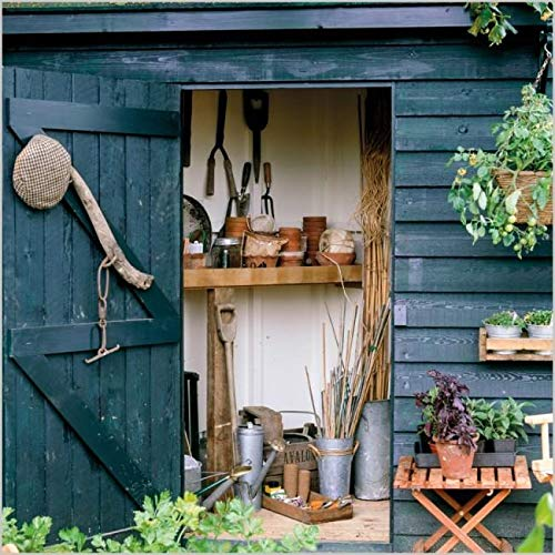 Gardeners' World - Tool Shed - Blank Greeting Card