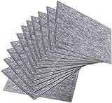 ybaymy 12 Stück Akustikplatten Schallabsorber Schallabsorptionsplatte Schallschutzplatten Akustikpaneele für Akustikbehandlung und Geräuschreduzierung Abgeschrägte Kante -...
