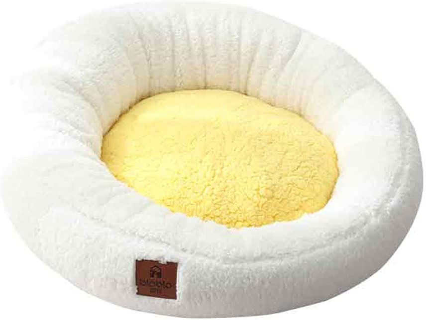 Czlsd Round Dog Bed- Pet Nest F Popularity House Washable Limited price and Removable