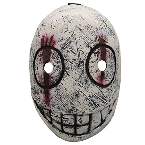 Creacom Máscara de látex de Halloween, Máscara de látex de Halloween Horror Disfraz de Cosplay Máscaras de Miedo para Adultos
