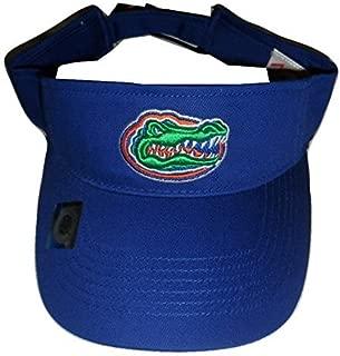 Florida Gators Adult Team Logo Visor, Royal