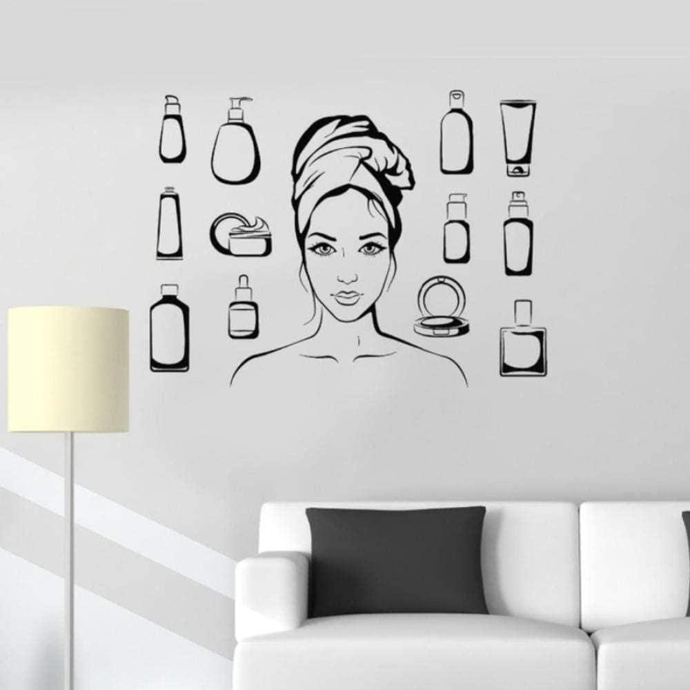 LORBAY Brilliant Woman Cosmetics Wall Inexpensive Sticker Home Deco Bathroom famous
