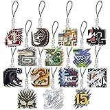 モンスターハンター 15th メインモンスターアイコンステンドマスコットコレクション BOX商品 1BOX=14個入、全14種類