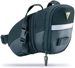 Topeak Aero Wedge Micro Strap-On Seat Mounted Bag for 27.2-34.9mm Seatposts
