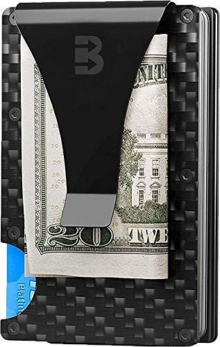 Lion Claw Minimalist Carbon Fiber Wallet Anti RFID