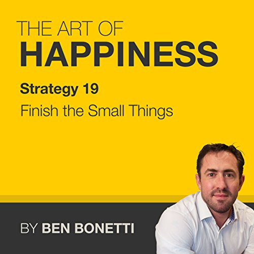 Strategy 19 - Finish the Small Things audiobook cover art
