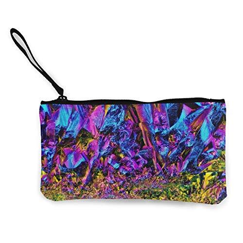 Bolsa de lona de titanio con diseño de arco iris, bolsa de