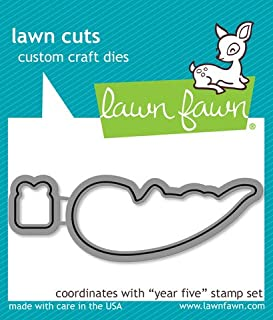 LF806 Lawn Fawn Die Cuts - Baked With Love