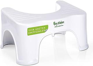 HOCA Original Tabouret pour Toilette Physiologique Contre Hémorroïdes, Constipation, Intestins Irritables, Flatulences. Ad...