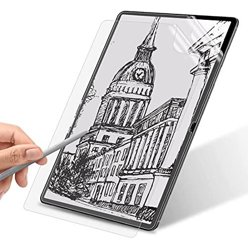 WEOFUN [2 Stück] Display Schutzfolie Kompatibel mit Samsung Galaxy Tab S7+/Samsung Galaxy Tab S7 Plus 12.4 Zoll(SM-T970/975/976), [Kratzfest] [Matte Textur][Reibungslose Handschrift]