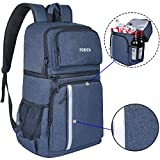 FORICH Insulated Cooler Backpack Double Deck Lightweight Leak...