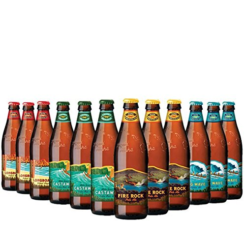 Kona-Brewing-Mega-Pack - 4x3 Biere aus Hawaii 12x0,355l inc. 3.00€ EINWEG Pfand