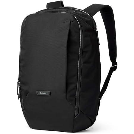 """Transit Workpack Bellroy (23 litros, portátil de hasta 16"""", Accesorios Tech, Ropa Deportiva, Zapatos, Botella de Agua, artículos de Diario) - Black"""