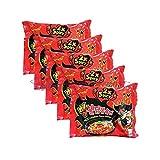 Samyang (5 Pack) 2x Spicy Hot Chicken Flavored Ramen