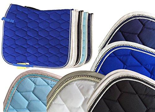 HKM Schabracke -Crystal Fashion-, weiß, Pony Dressur