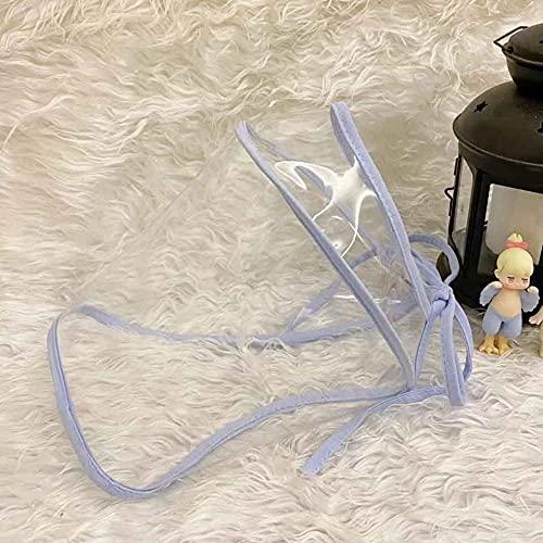Sombrero Pescador Gorras Hombre Mujer Sombrero De Cubo Plegable para Mujer, Sombrero De Pescador, Sombrero De Algodón De Moda para El Sol, Protector Facial, Cubierta Transparente, Máscara-C032-24