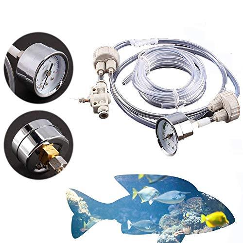 Yosoo DIY CO2-System für Aquarien, für Pflanzen und Fische, mit Luftschlauch