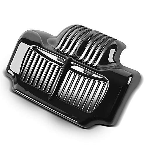 Tapa Radiador de Aceite para Harley Davidson Road Glide Special 15-16 Negro