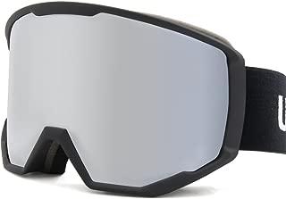 uxcell Ski Snowboard Goggles Men Women Anti-Fog UV Ray Protect Winter Sports Gear Snow Goggles