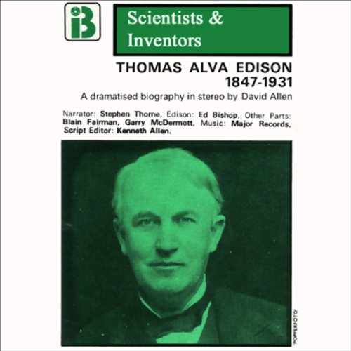 Thomas Alva Edison audiobook cover art