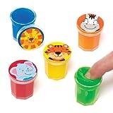 Baker Ross Melma a tema amici della giungla per bambini e bambine. Perfetti per giocare o per sacchetti regalo per feste di bambini (confezione da 6)