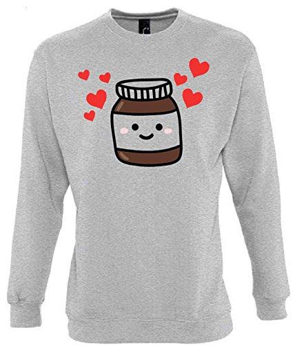 Unbekannt Nutella Funny Mens & Ladies/Herren & Damen Unisex Sweatshirts (S)