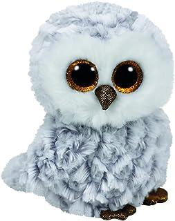 Ty Beanie OWLETTE - white owl reg