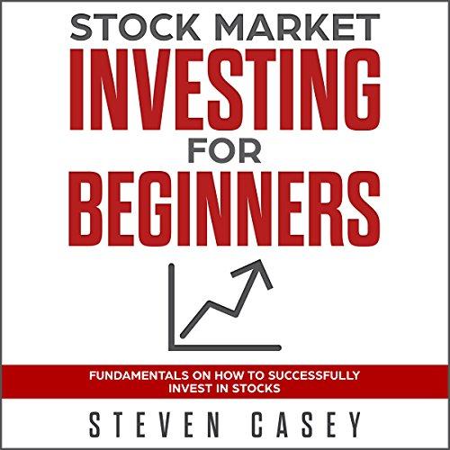Stock Market Investing for Beginners audiobook cover art